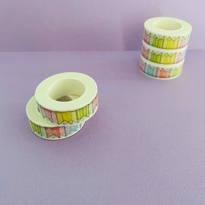 Bunting Washi Tape Flag Planner Tape